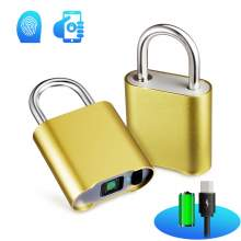 Smart Bluetooth fingerprint  padlock O17