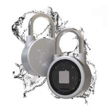 Smart Bluetooth fingerprint  padlock O6